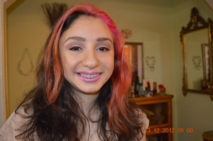 Angelica was getting her pictured taken for her High School Graduation and wanted a teen look.