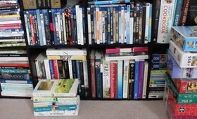 De-cluttering Series Part 1 - Movies, Books & Puzzles | Chicago Beauty Report