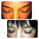 lashes growing