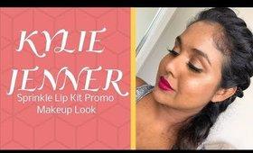 Kylie Jenner Sprinkle Lip Kit Promo Makeup Look   Itsmrsshasha