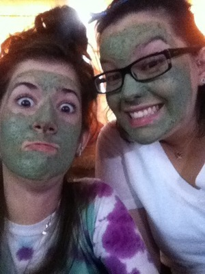 funnn Lush face masks!