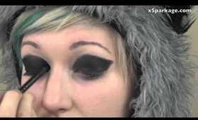 Last Minute Halloween: Raccoon Eyes (the right way!)