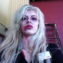 Vampire Halloween look from Australia