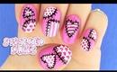 Cute Stitched Nails!
