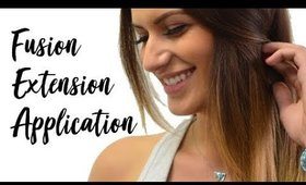 Fusion Hair Extensions - Application | Instant Beauty ♡