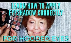 Learn How To Apply Eyeshadow Correctly For Hooded Eyes | mathias4makeup