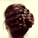 Braided Updo Finished Product