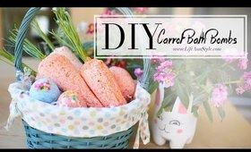 DIY Lush Carrot & Easter Egg Bath Bombs CUTE | ANNEORSHINE