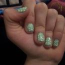 Polkadot spring nails!
