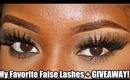 My Favorite False Lashes + $90 GIVEAWAY!