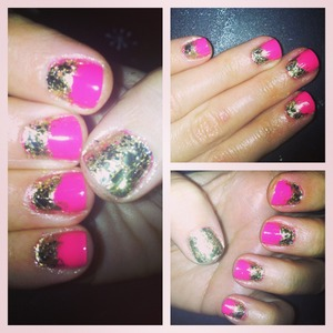 Essie Lights, American Apparal Meteor Shower, Orly Luxe, Sephora by OPI The Golden Age