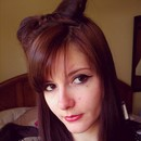 Hairbow and Cat Eyes