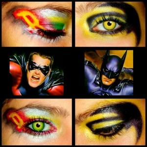 Superhero makeup week 10/12