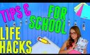 Life Hacks and Study Tips For School 2015! How To Get Straight A's!