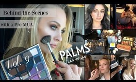 BTS w/ a Pro MUA | Vol 9 | Palms Casino & Mr Coco Lounge Campaign Shoot