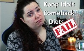 Kpop comeback diet FAIL! - Fitness Friday