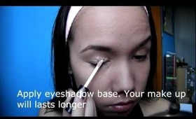 Midnight Butterfly (Valentines makeup tutorial)