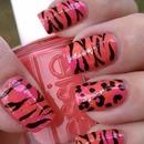 Bright Leopard Zebra