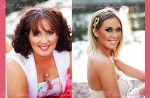 These two gorgeous ladies came to me from brisbane to make them even more beautiful! Gorgeous!