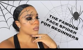 Easy Halloween Makeup   Spider Eye look  leiydbeauty