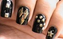 Nail Art Tutorial with Studs- DressLink Review - metal nail art how to do nail design tutorial