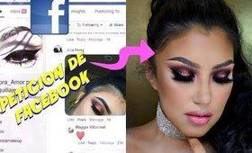 PETICION desde FACEBOOK para tutorial de Maquillaje / From Facebook peticion to video   auroramakeup