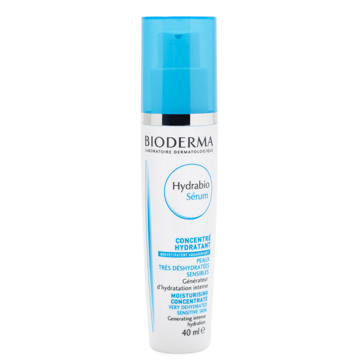 Bioderma Hydrabio Sérum product smear.