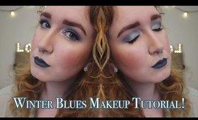 Winter Blues Makeup Tutorial!