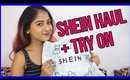 SHEIN HAUL + TRY ON   Stacey Castanha