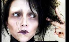 Edward Scissorhands Costume Make-Up (by kandee)