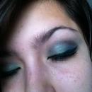 Smokey Green Eyes <3