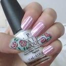 Rose Fabric Nail
