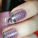 Stamping Houndstooth