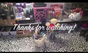 My Makeup Collection Video 2015