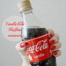 Vanilla Coke ruffian manicure