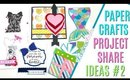 Paper Crafts Project Share ft Handmade Cards incl Pet Sympathy, Valentines Day, and Mermaid Card #2