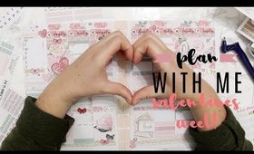 HAPPY PLANNER | PLAN WITH ME VALENTINES WEEK | COLLAB WITH SIMPLY PLANNING