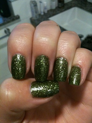 China Glaze Haunting Collection Halloween 2011 It's Alive China Glaze Fast Forward Top Coat