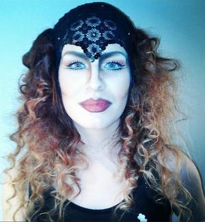 Hair by Kamilla Wilberg Makeup by me Model: me