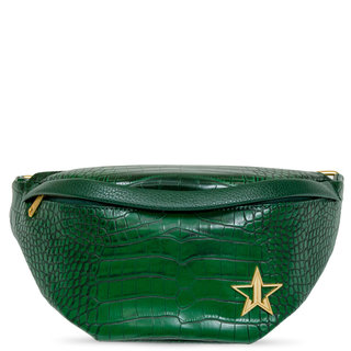 Green Crocodile Cross Body