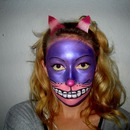 Cheshire Cat Inspired Make-Up