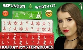 JEFFREE STAR HOLIDAY 2019 MYSTERY BOXES | UNBOXING ALL THREE!