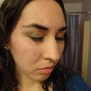 Saint Patrick's Day Eye Makeup