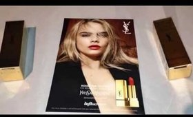 Influenster YSL Beauty Rouge Pur Couture Vox Box