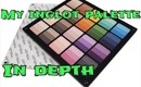 My Inglot Palette In Depth ♡ REQUESTED
