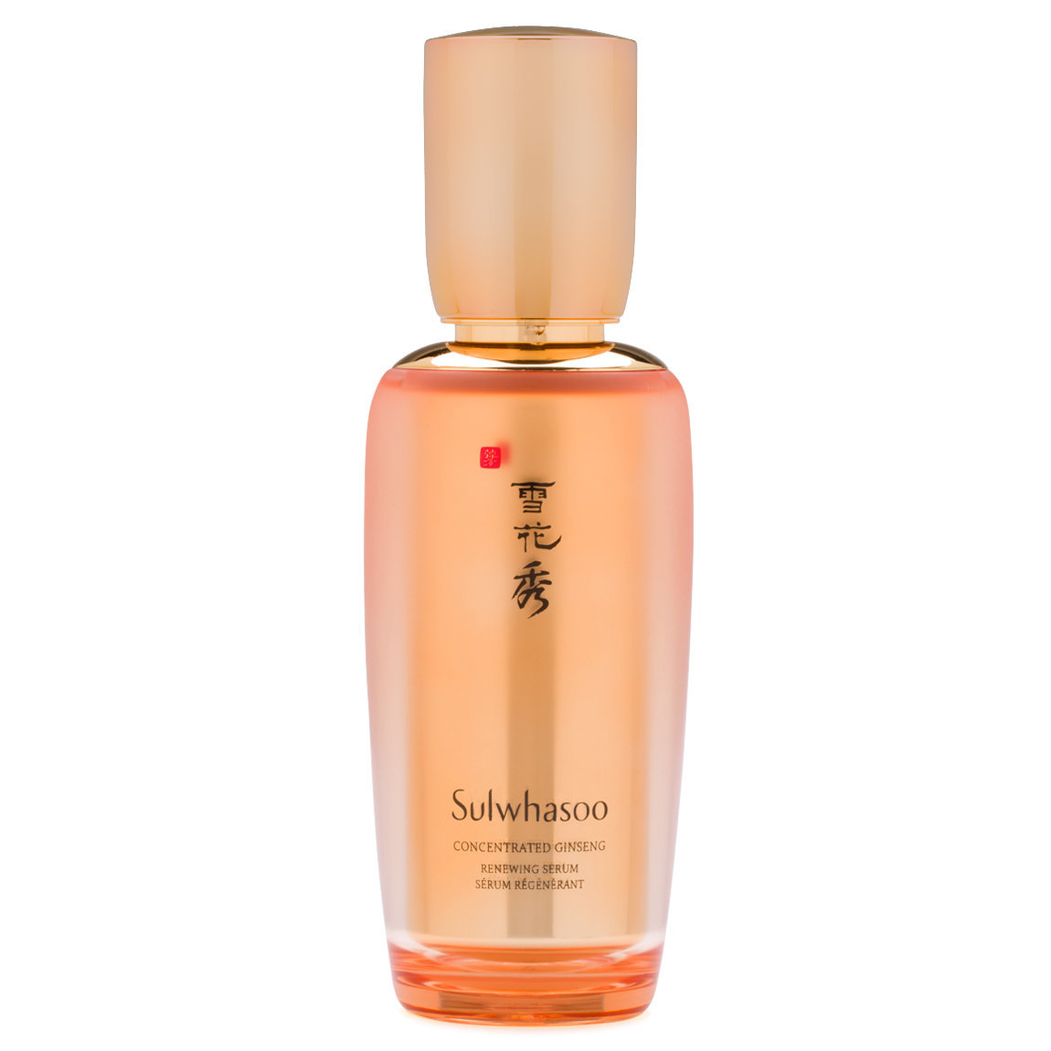 Sulwhasoo Concentrated Ginseng Renewing Serum product smear.