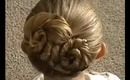 How to do a Figure 8 Rosette Hair Bun