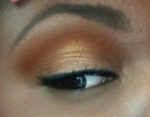 MAC Bronze  Peanut Butter color Eyeshadow
