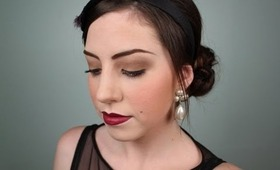 The Great Gatsby Movie & 1920's Inspired Makeup Tutorial!