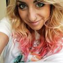 Blonde to pink